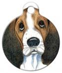 Sad Eyes Dog Tag