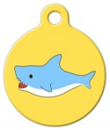 image: Shark Attack! Dog ID Tag