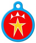 Superstar Pet ID Tag