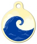 image: Surfer Dog Tag
