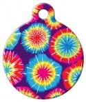 Image: Tie Dye ID Tag
