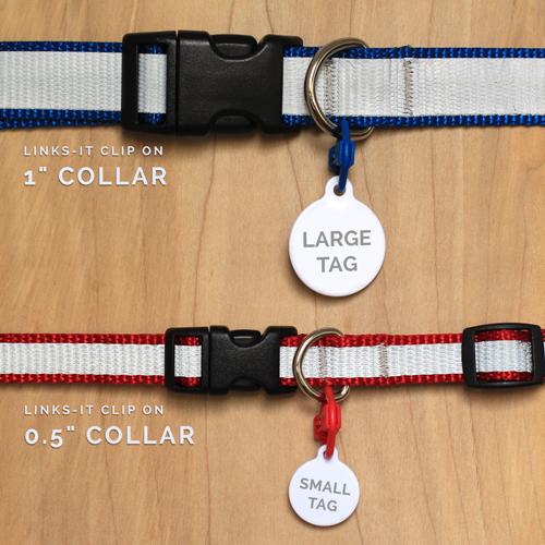 Pet Id Tag Clip Dog Collar Art