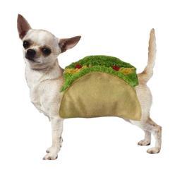 Dog Halloween Costume Taco