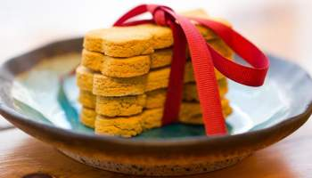 Holiday Baking With Your Best Friend - Peanut Butter Pumpkin Dog Treats