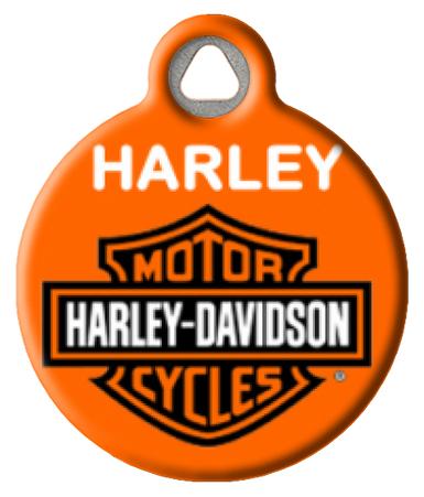 Harley Davidson3 Dog Tag Art