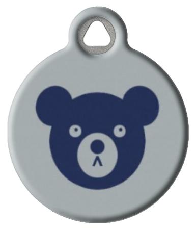Blue Bear Pet ID Tag
