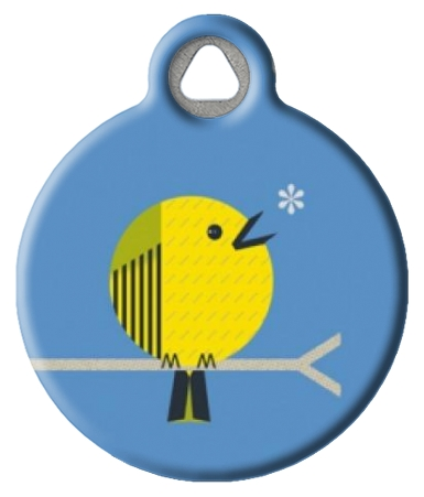 Little Yellow Bird Tag