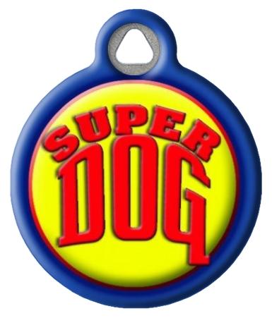 Super Dog Pet ID Tag