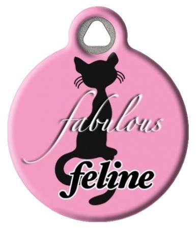Fabulous Feline Cat Tag