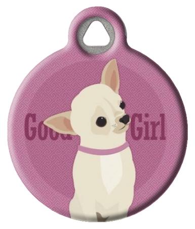 Good Girl - Chihuahua Pet ID Tag