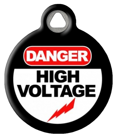 High Voltage Pet ID Tag