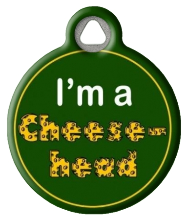 Green Bay Packers Dog Tag Packers Cheesehead Dog Id Tag