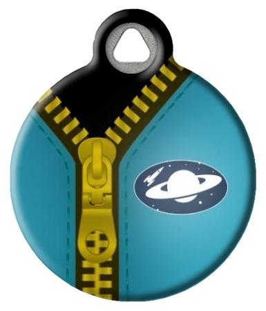 Spaceman Suit Pet ID Tag