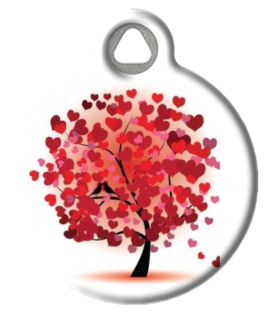 Love Birds Pet ID Tag