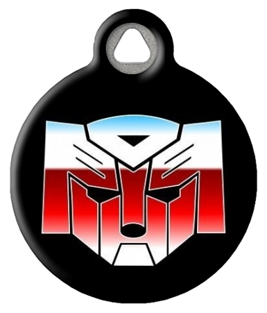 Autodogs Transformers Dog ID Tag