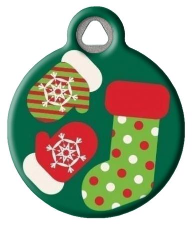 Stocking Stuffer Lupine Pattern Pet ID Tag