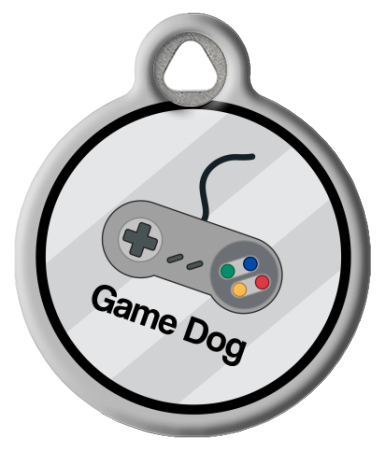 Game Dog Collar Tag
