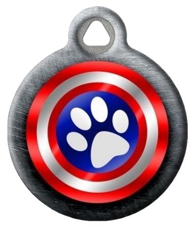 Canine America Shield Pet ID Tag