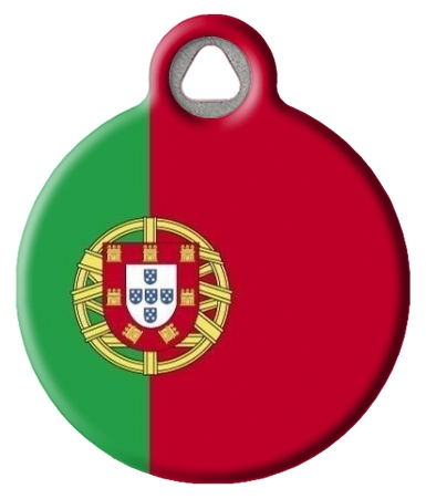 Portugal National Flag Dog or Cat ID