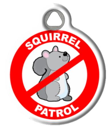 Squirrel Patrol Dog or Cat ID