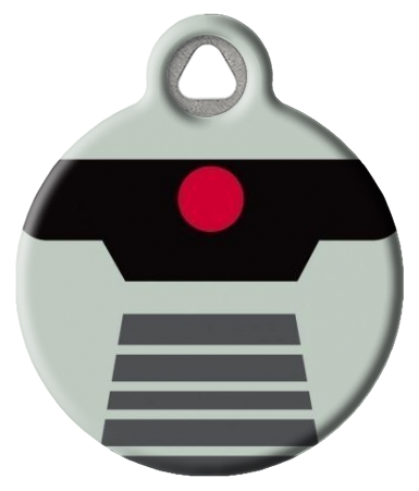 Vintage Cylon Tag for Dog or Cat Collars