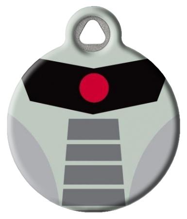 Modern Cylon Custom Pet ID Tag