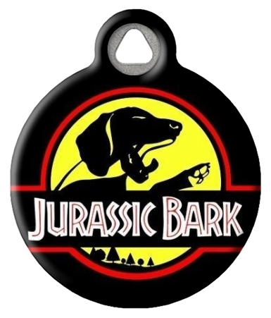 Jurassic Bark Custom Dog ID Tag