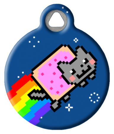 The Original Nyan Cat ID Tag