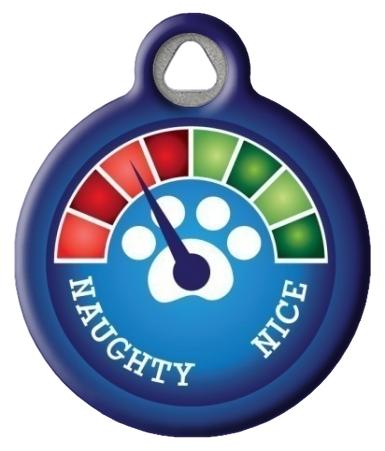 Christmas Meter - Needs Improvement! Pet Name Tag