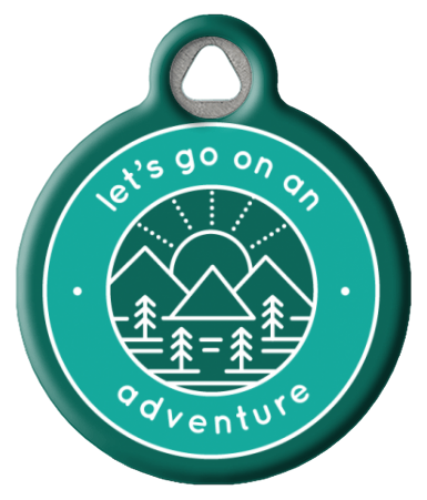 Adventure Badge Dog Tag