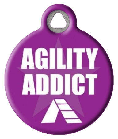 Agility Addict ID Tag for Pets