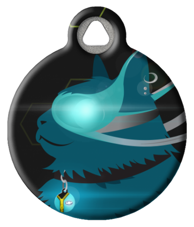 CyberCat Pet ID Tag