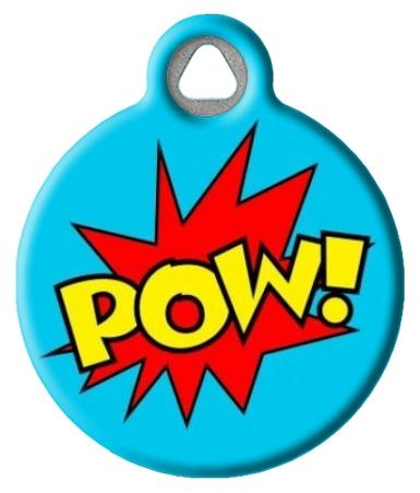 POW! SFX Pet ID Tag