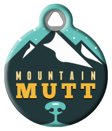 Cool Mountain Mutt Pet Tag
