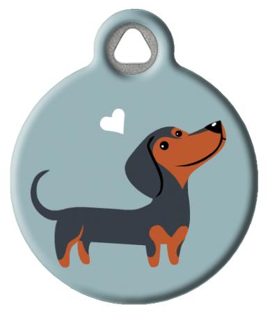 Dachshund Doggie ID Tag