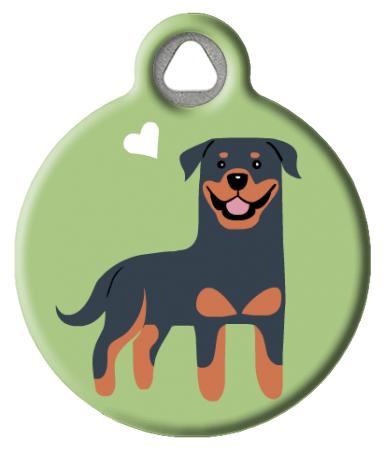 Rottweiler Doggie ID Tag