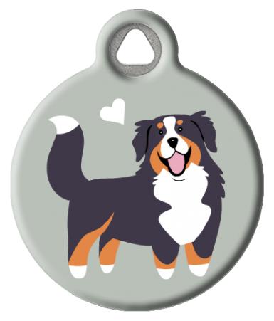 Bernese Mountain Dog Doggie Id Tag