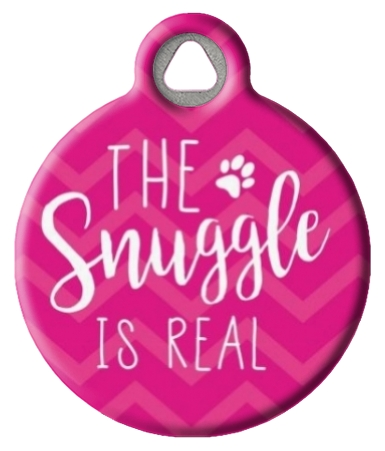 The Snuggle is Real ID Tag