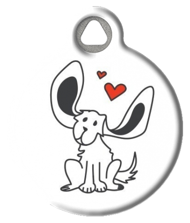 Puppy Love ID Tag MFA