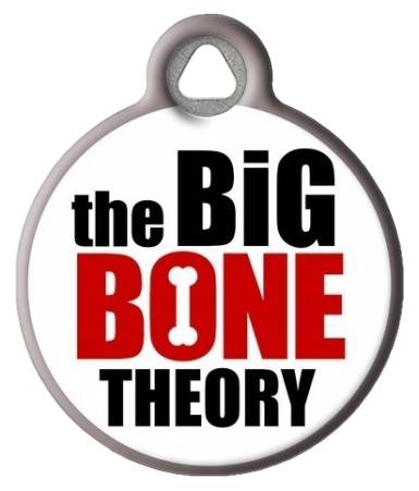 The Big Bone Theory Dog ID Tag
