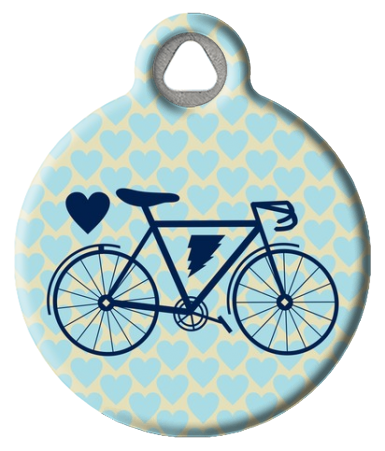Rad Bike ID Tag