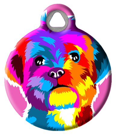 Personalized Dog ID Tags | Cool Pet Tags | Dog Tag Art