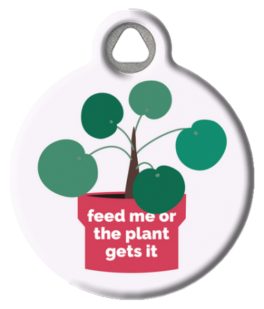 Plant Killer Cat Tag