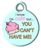 Cute as a Cupcake Pet ID Tag