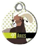 Aries Pet ID Tag