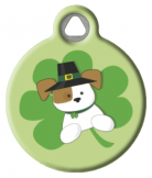 Pup of the Irish ID Tag  for Dogs