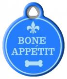Bone Appetit Name ID Tag for Dogs
