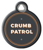 Undercover Crumb Patrol Dog ID Tag
