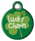 Lucky Charm Pet ID Tag