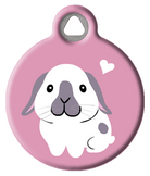Holland Lop Bunny ID Tag